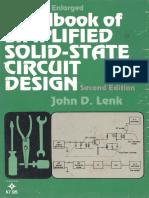 Handbook of Simplified Solid State Design LENK J 1978
