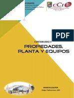 Guía Propiedades, Planta y Equipos 2016