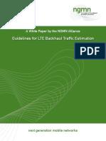 Cisco-LTE-Dimensioning Transport-NGMN Whitepaper Guideline for LTE Backhaul Traffic Estimation