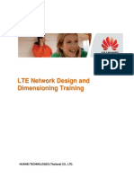 Huawei-LTE Network Design and Dimensioning Training Material