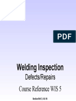 WIS5 Defect and Repair