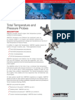 Total Temperature and Pressure Probes