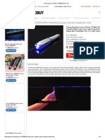 Burning Laser Pointers 10 Watt
