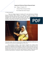 Laporan Hasil Pengamatan Bioskop Platinum Margo City Depok