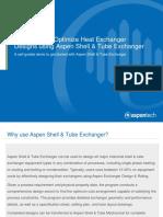 Self Guided Demo - Aspen Shell and Tube Exchanger V8.8