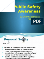 Public Safety Awareness