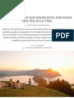 44 Cosas Que Hay Que Hacer en El País Vasco Una Vez en La Vida _ Traveler