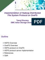 TanujKhuranaUpdated Implementation Hadoop