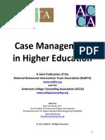 2012 NaBITA ACCA Whitepaper Case Management in Higher Education