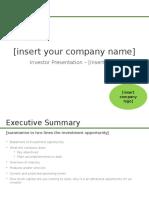 Investor Presentation Template_EATIH
