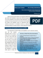 Prek Policy Brief Inclusion Children With Disabilities 2 2010