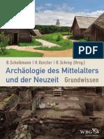 Archaeologie Des Mittelalters Und Der Neuzeit-WEB