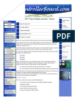 PIC16F877 Timer Modules Tutorials _ Timer1
