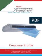 Rito Air condition and refregeration Profile 11 April2016