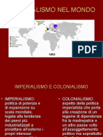 Colonialismo e Imperialismo