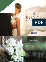 Royal Caribbean Arabia - Cruise Wedding Brochure