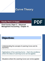 p 5 Ch 16 Learning Curve Theory