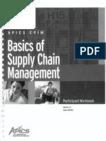 Basics of Supply Chain Management - Apics - Version 2.1 August 2001 (1)