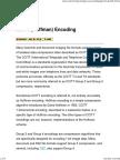 CCITT(Huffman)Encoding