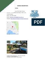 melrose park school context description