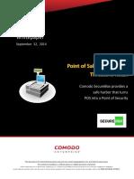 Why Comodo SecureBox for POS Security?