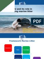 EU and Its Role in Marine Litter - L. de Vrees