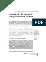 Recio, Torns, et al., 2009, La regulación tiempo trabajo en la UE