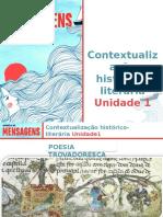 Contextualização Histórico-literária - Unidade 1