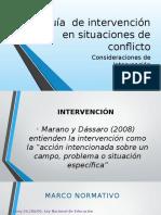 Guía de Intervención en Situaciones de Conflicto
