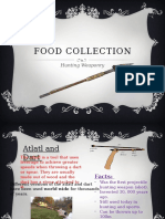 Food Collection_hunting Weaponry