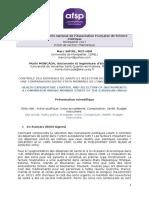 SMYRL & MONCADA - Présentation Scientifique