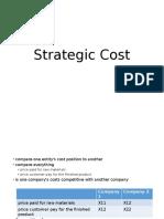 Strategic Cost