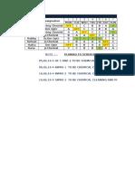 Febuary Shift Schedule -2016