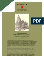Un Templo Hindú, Por Ananda K