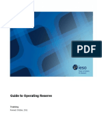 Guide to Operating Reserve