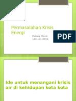Tugas Pengantar Fisika Energi