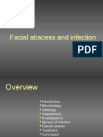 Facial Abscess and Infection