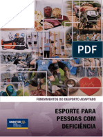 1- APOSTILA E EXERCICIO- Caracterização Do Desporto Adaptado