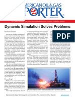 American Oil Gas Reporter - Dynamic Simulation Solves Problems