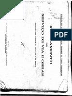 Regulamento Do Sevrvico de via e Orbas Inm(1975)
