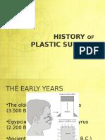 Historia de la Cirugía Plástica