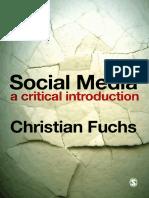 Social Media a Critical Introduction