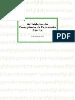 Actividades de Emergência da Expressão Escrita