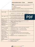 Cours - Math Comment Réagir Aux Questions d'Analyse - Bac Toutes Sections (2015-2016) Mr Khammour Khalil
