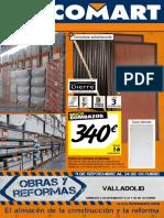Bricomart Folleto Valladolid Valladolid 05-09-2016
