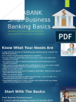 Small Business Banking Basics
