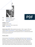 Soichiro Honda - Wikipedia, The Free Encyclopedia