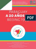 PARAGUAY A 20 ANOS DE BEIJING 1995 - LILIAN SOTO - CDE - ANO 2015 - PORTALGUARANI