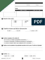 251915812 Ficha Evaluacion Tema 2 Matematicas 3º Primaria