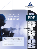 Asbestos Flyer